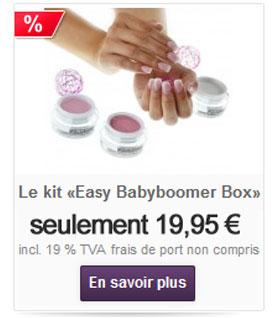 Acheter gel UV babyboomers en ligne